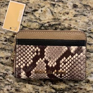 BNWT Michael Kors Card Case/Small Wallet